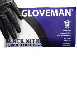 Black Nitrile Gloves Neills Materials