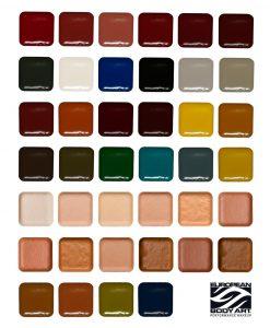 Encore Palette Refills Colours Neills Materials 1