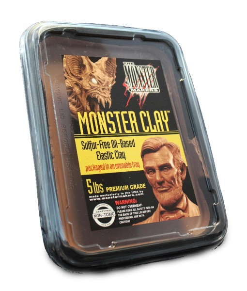 Monster Clay Neills Materials