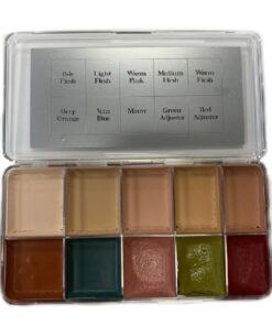 Neills Materials Lighter Flesh Tones Palette