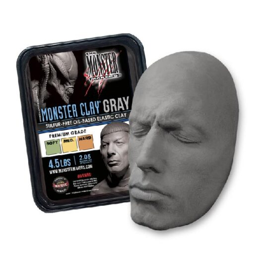 Neills Materials Monster Clay Gray Sculpting