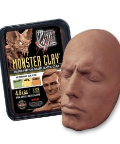 Neills Materials Monster Clay Sculpting