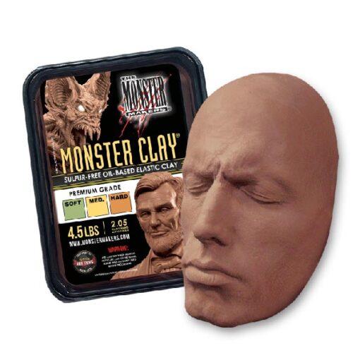 Neills Materials Monster Clay Sculpting