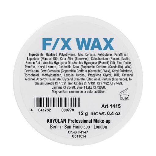 Kryolan FX Wax 12g