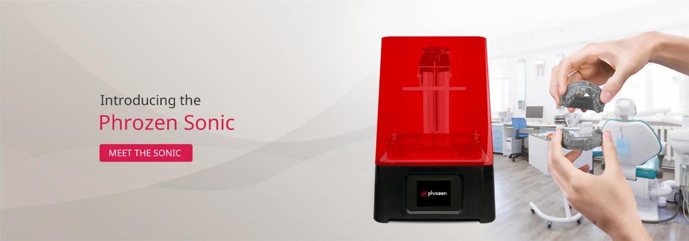 Neills Materials Phrozen 3D UK Sonic Mini 3D Printer