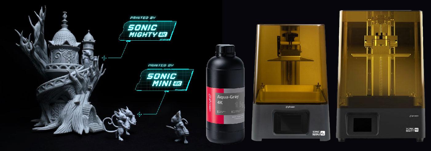 Phrozen 3D Printing 4K