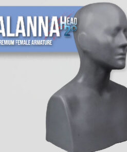 Alanna Head Armature Sculpting