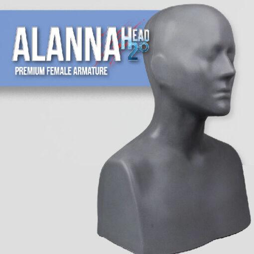 Alanna Head Armature Sculpting